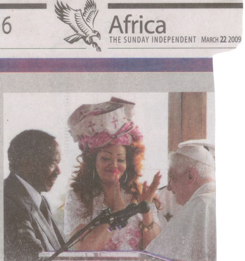 The Mad Hatter's papal party