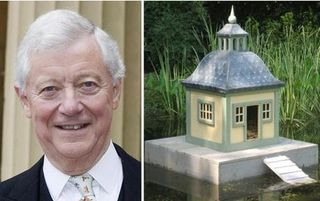 Sir Peter Viggers and duck island